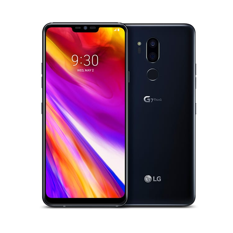LG G7 ThinQ mobile phone handset with Google Assistant built-in